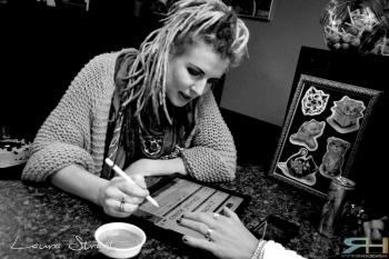 Portrait of an Artist Laura Straat